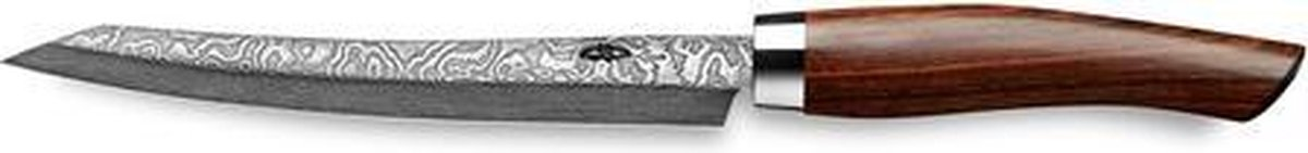 Nesmuk Exklusiv Full Damascus Slicer, 16cm cocobolohout - nesmuk