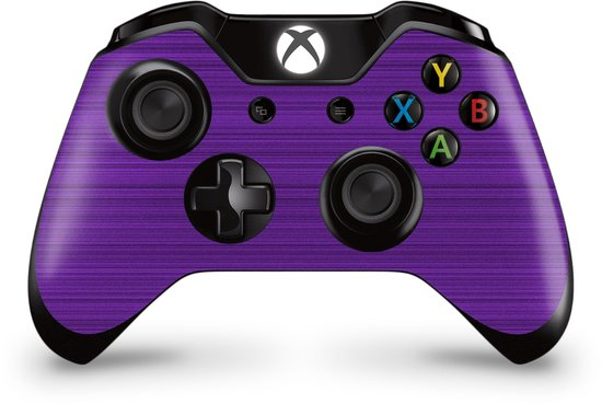 Xbox One Controller Skin Brushed Paars Sticker
