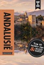 Boek cover Wat & Hoe Reisgids - Andalusië van Wat & Hoe Hoogtepunten