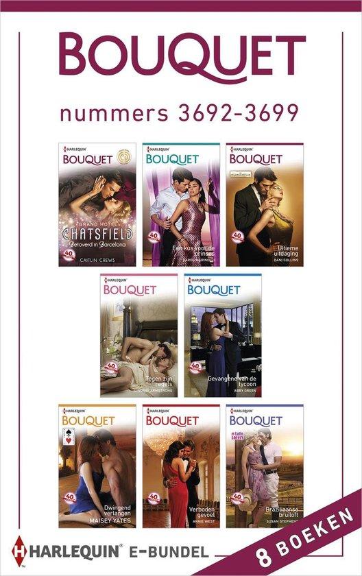 Bouquet e-bundel nummers 3692-3699, 8-in-1 - Caitlin Crews |