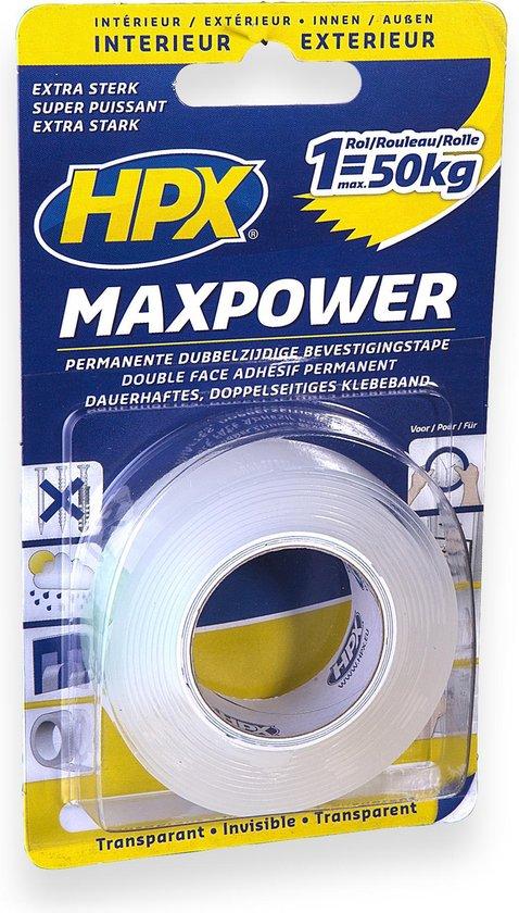HPX - DUBBELZIJDIGE BEVESTIGINGSTAPE - 19mm x 2m (VDLHPX1902HT)