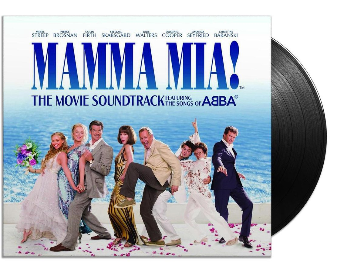 Mamma Mia! - The Movie Soundtrack (LP) - various artists