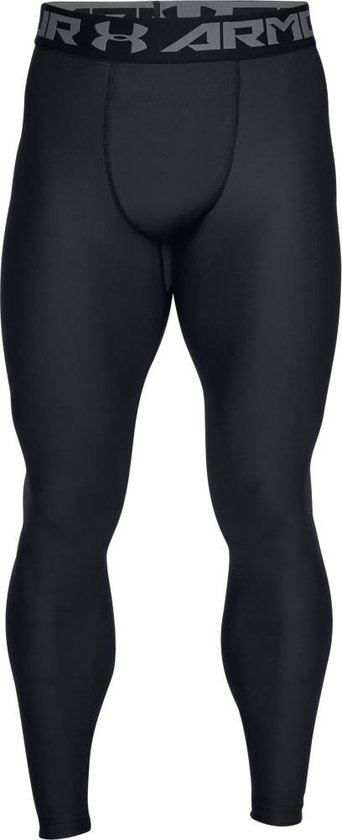 Under Armour HG Armour 2.0 Tight Sportlegging Heren - Maat M - Zwart
