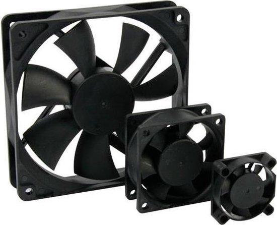 ventilator - 12Vdc Glijlager 60 X 60 X 25Mm
