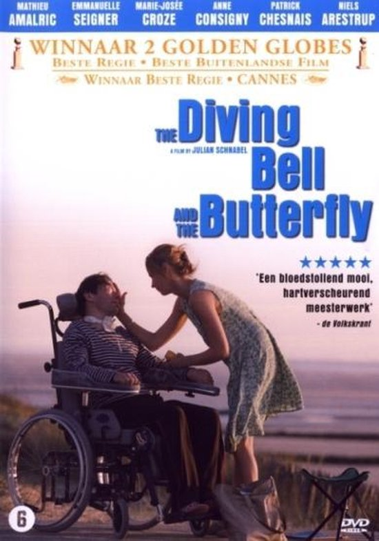 Cover van de film 'Diving Bell And The Butterfly'
