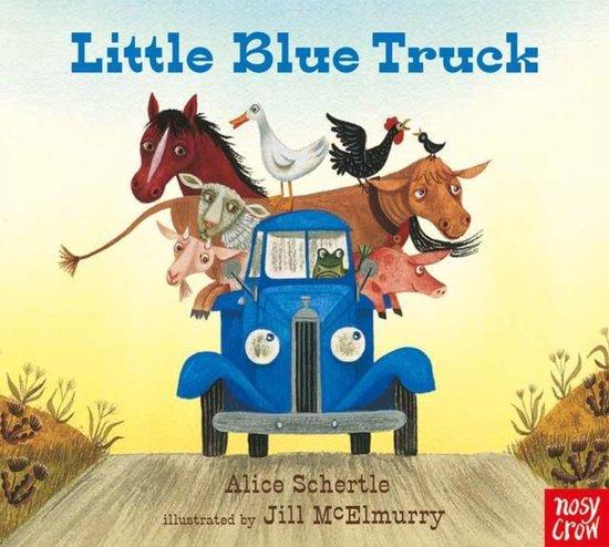 Boek cover Little Blue Truck van Alice Schertle (Hardcover)