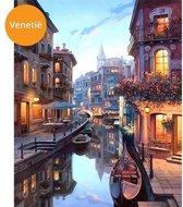 Schilderenopnummers.com® - Schilderen op nummer volwassenen - Venetië - Italië