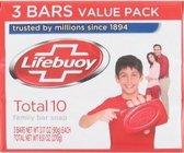 Lifebuoy Zeep Total 10 3 x 90 gr