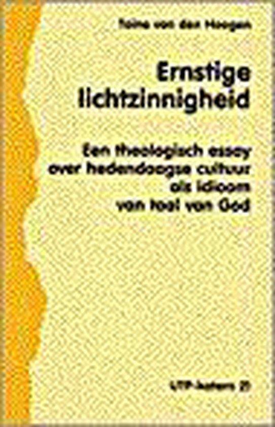 Ernstige lichtzinnigheid - T.V.D. Hoogen |