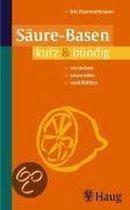 Boek cover Säure-Basen kurz & bündig van Iris Hammelmann