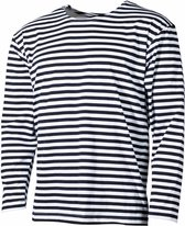Russisch marine T-Shirt lange mouw zomermodel, MAAT M - over-sized