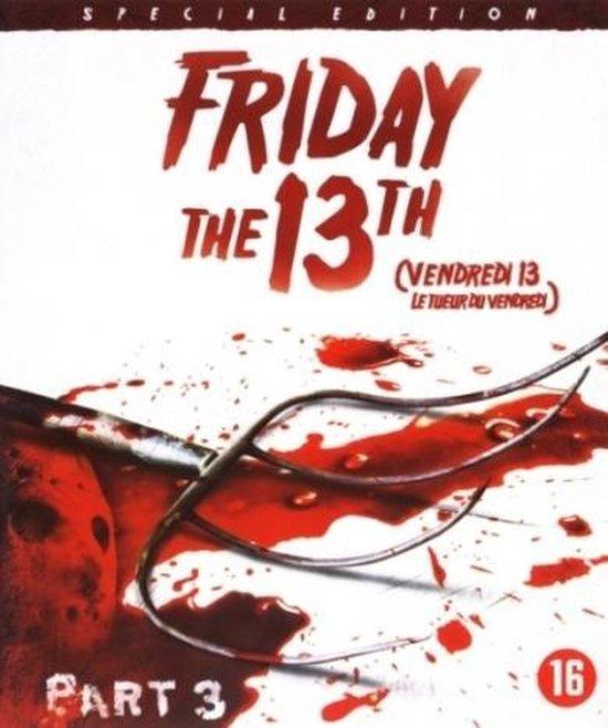 Cover van de film 'Friday 13th Deel 3'