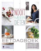 Boek cover Nooit meer diëten - eetdagboek van Sandra Bekkari (Paperback)