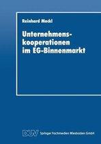 Unternehmenskooperationen Im Eg-Binnenmarkt