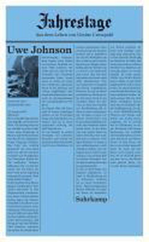 Boek cover Jahrestage 1 van Uwe Johnson (Paperback)