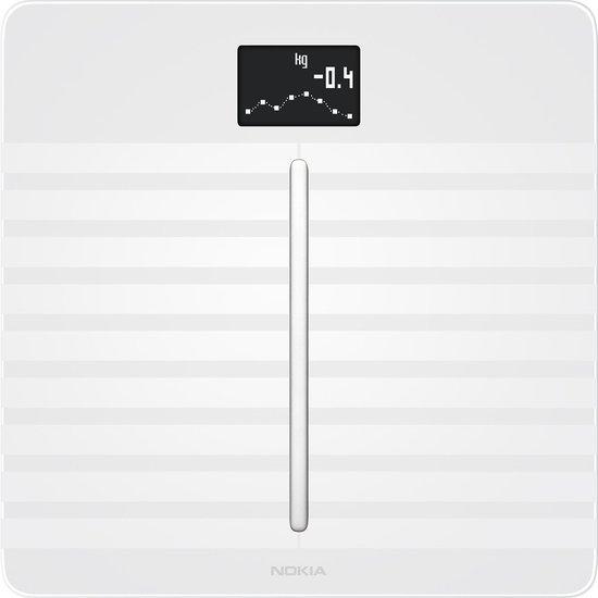 Withings/Nokia Body Cardio Smart - Personenweegschaal - Wit