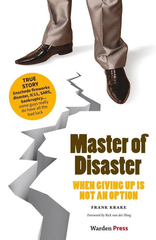 Boek cover Master of disaster van Frank Krake (Onbekend)