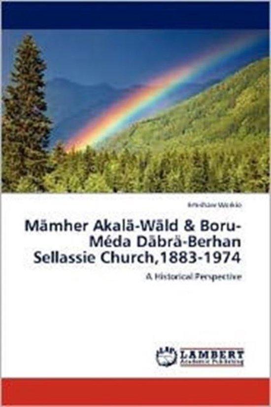 Boek cover Mamher Akala-Wald & Boru-Meda Dabra-Berhan Sellassie Church,1883-1974 van Emishaw Workie (Paperback)