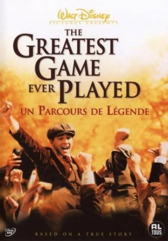Cover van de film 'Greatest Game Ever Played'