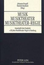 Musik - Musiktheater - Musiktheater-Regie