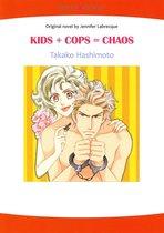 KIDS + COPS = CHAOS (Mills & Boon Comics)