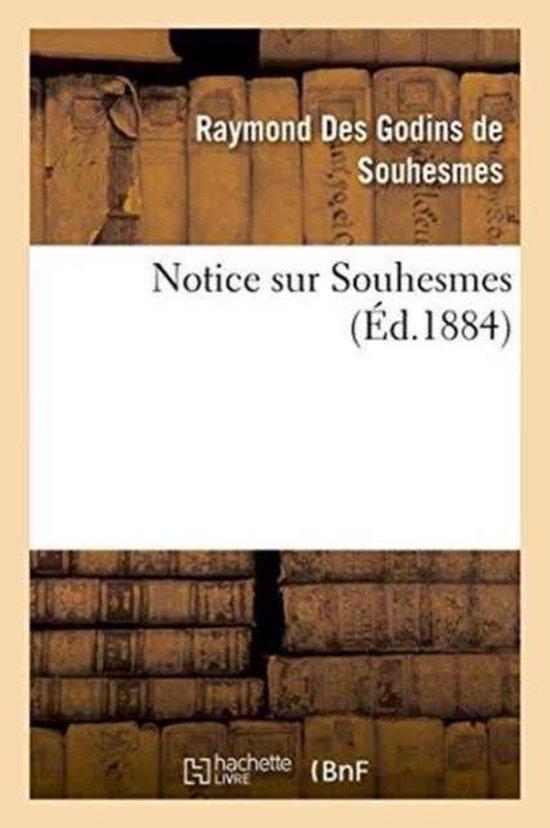 Notice sur Souhesmes