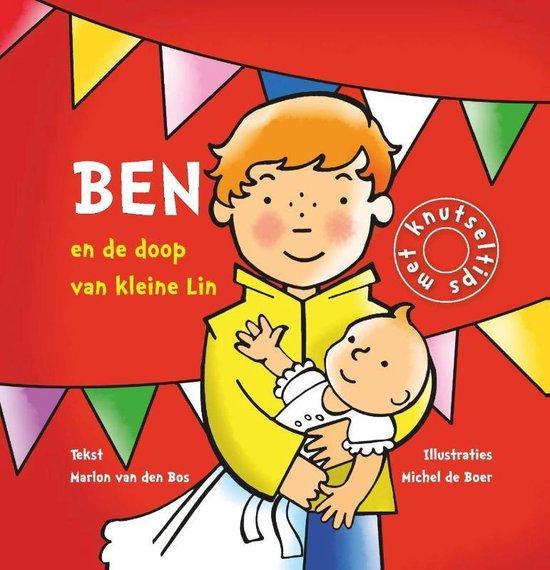 Cover van het boek 'Ben en de doop van klein Lin'