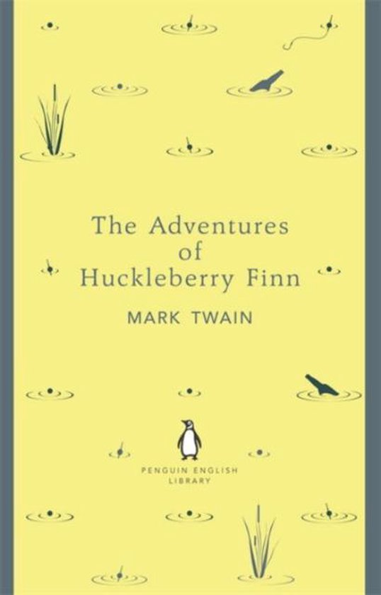 Boek cover The Adventures of Huckleberry Finn van Mark Twain (Paperback)