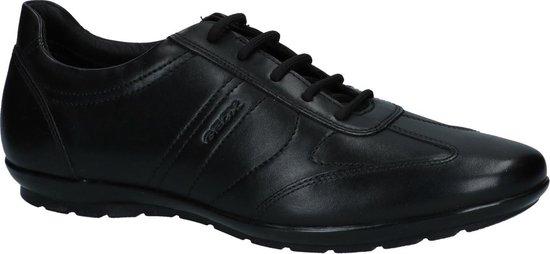 Geox - U 74a5 B - Casual schoen veter - Heren - Maat 43 - Zwart;Zwarte - 9999 -Black