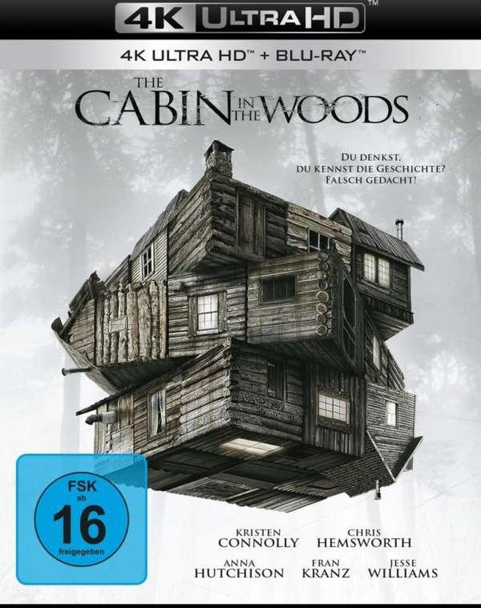 The Cabin in the Woods UHD Blu-ray-