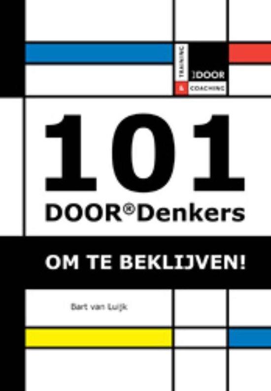Cover van het boek '101 DOORDenkers voor verkopers' van Bart van Luijk en Bart van Luijk
