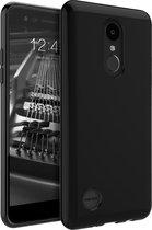 Zwart TPU Siliconen case hoesje voor LG K8 (2017)
