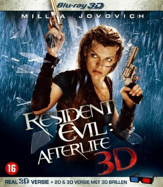 Cover van de film 'Resident Evil 4: Afterlife 3D'