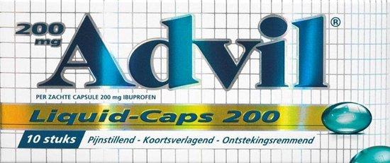 Advil Reliva Liquid Caps 200 mg - 10 caps