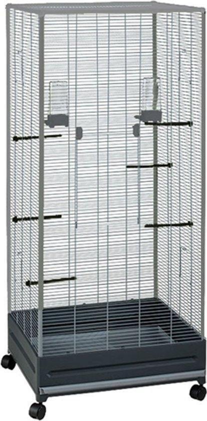 Voltrega Volière 420 Rechthoekige vogelkooi 65x54x150 cm