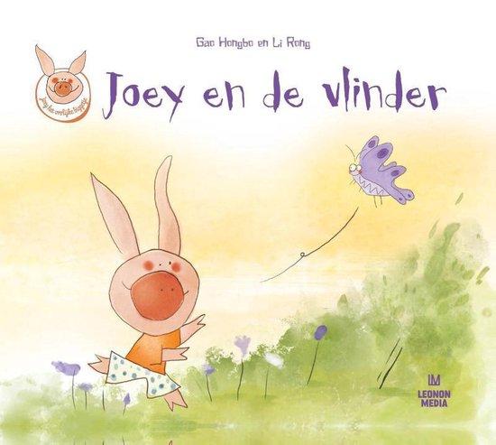 Joey het vrolijke biggetje 2 - Joey en de vlinder - Gao Hongbo |