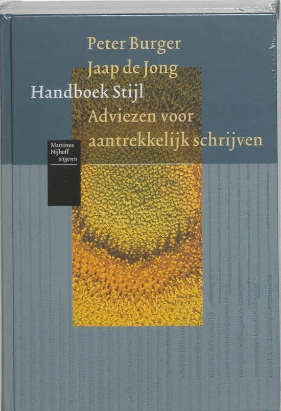 Handboek stijl - P. Burger |