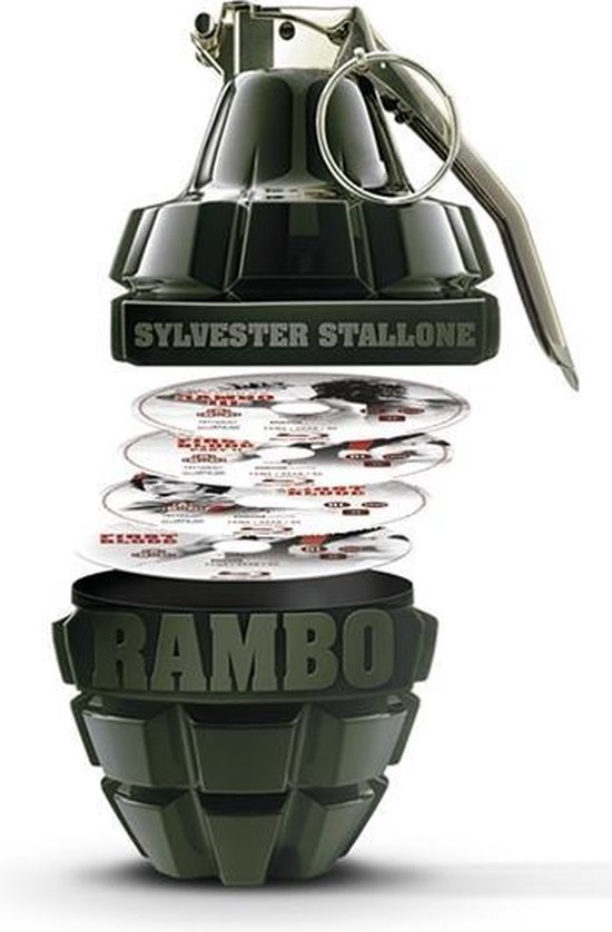 Rambo 1-4 Boxset L.E. (D) [bd]