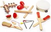 Tidlo - Set muziekinstrumenten - Hout - 14-delig