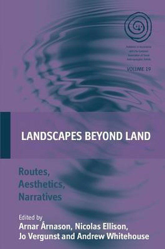 Boek cover Landscapes Beyond Land van Arnar Arnason (Hardcover)