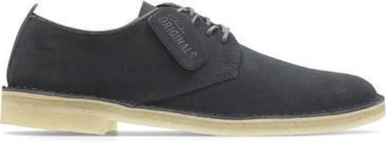 Clarks - Herenschoenen - Desert London - G - midnight suede - maat 7,5