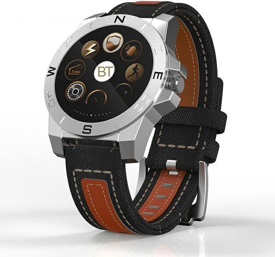 SmartWatch-Trends SWT10 - Smartwatch - Zilver