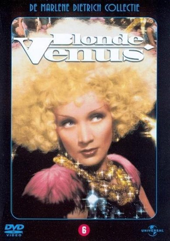 Cover van de film 'Blonde Venus'