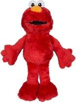 Rode pluche Elmo Sesamstraat knuffel/pop 38 cm - Bekend van TV cartoon knuffels poppen