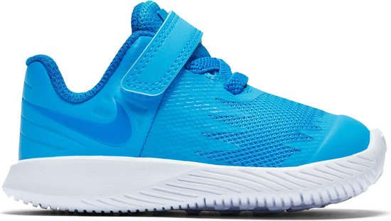 accidente Permeabilidad Confinar  bol.com | Nike Star Runner Sneakers - Maat 22 - Unisex - blauw/wit