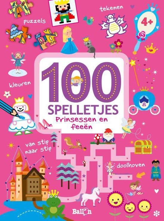 100 spelletjes - Prinsessen en feetjes - 100 spelletjes |