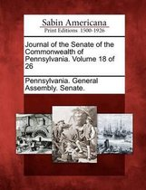 Journal of the Senate of the Commonwealth of Pennsylvania. Volume 18 of 26