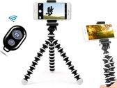 Flexibele Statief voor Smartphone camera met Bluetooth Afstandsbediening - Mobiele Telefoon Houder - Tripod Octopus - Gopro en Ipad Tripod