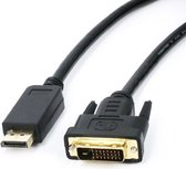 DisplayPort naar DVI kabel, 1 meter