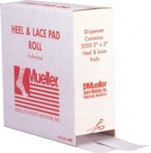 Mueller Heel & Lace Pads / 2000 st. 1 mm x 7,6 cm x 7,6 cm (incl. dispenser)